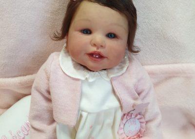 bebe reborn Stephanie de la escultora Didi Jacobsen
