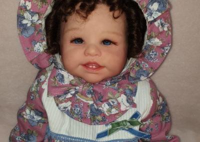 bebes reborn Stephanie hacer click en la foto